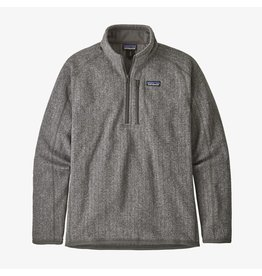 Patagonia Men's Better Sweater Rib Knit 1/4 Zip Fleece Jacket