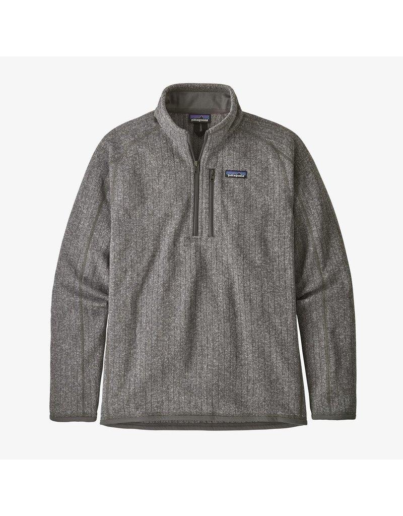 Patagonia Men's Better Sweater Rib Knit 1/4 Zip Fleece Jacket