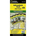 National Geographic Adk Park T.I. Topographical Map Pack Bundle