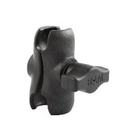 "YakAttack RAM 1"" Short Composite Double Socket Arm"