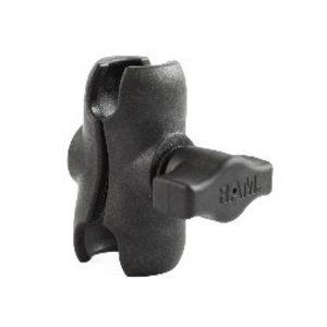 "YakAttack RAM 1"" Short Composite Double Socket Arm"