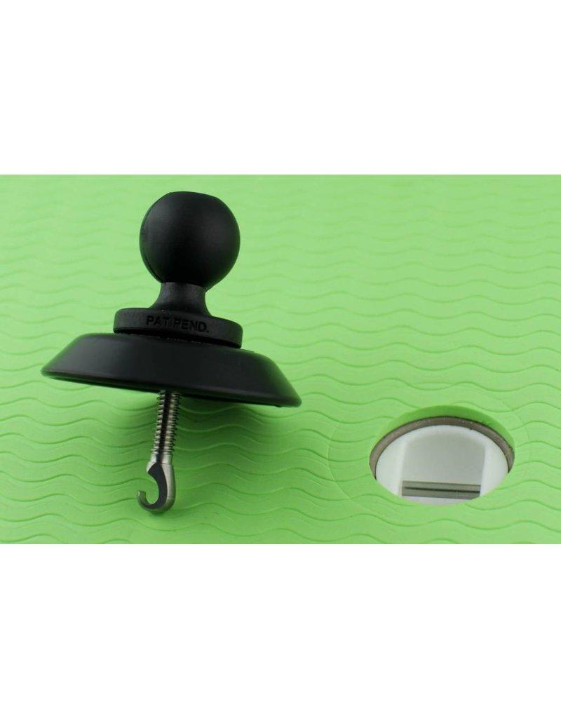 YakAttack SUP Leash Plug Adapter with 1.5'' Screwball
