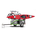 SylvanSport Go Easy Ultimate Boat Trailer w/ Deck, Storage Box, and Spare Tire