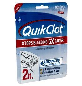 """Adventure Medical Kits QuikClot Clotting Gauze 3"""" x 2'"""