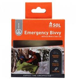 SOL Emergency Bivy w/ Rescue Whistle - Orange