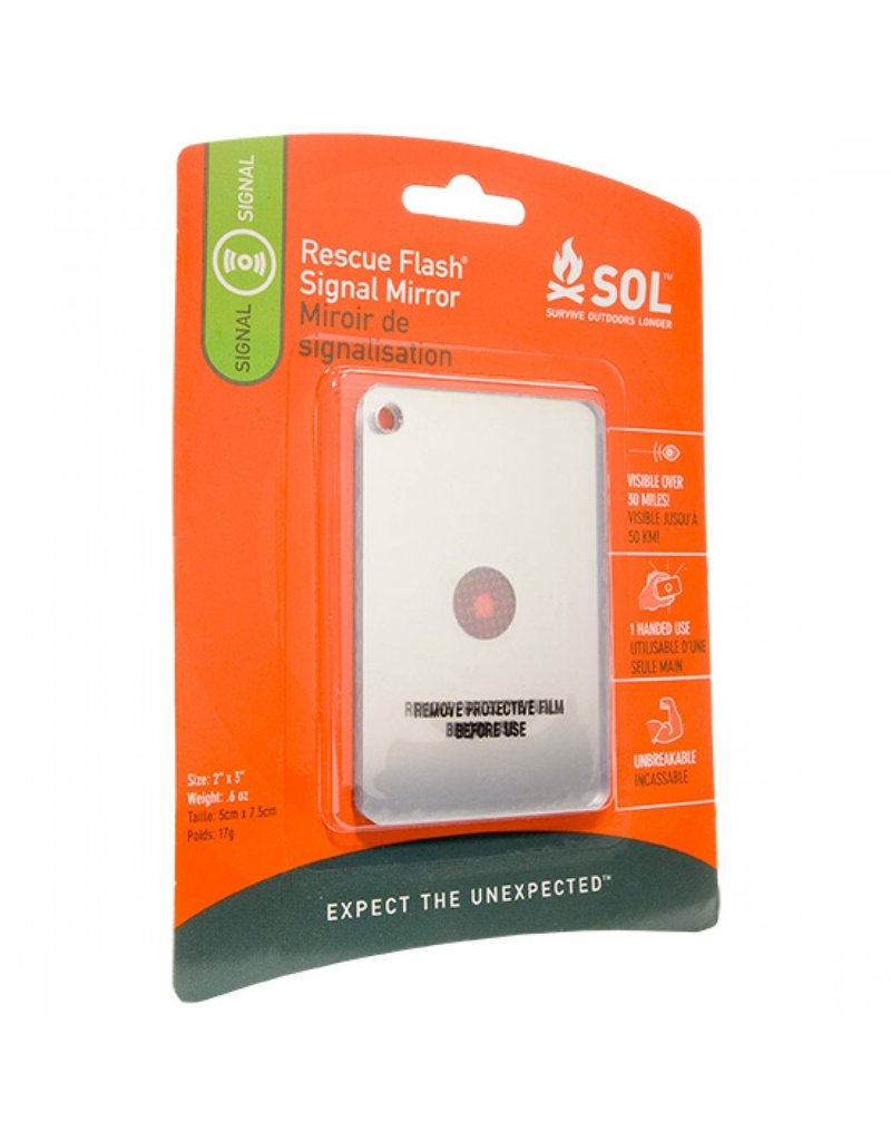 SOL Rescue Flash Mirror