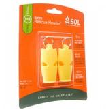 SOL Rescue Howler Whistle 2pk