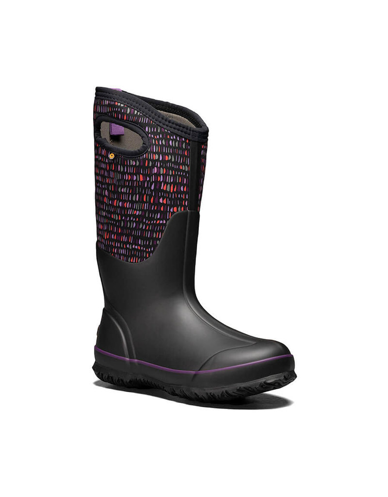 Bogs Women's Classic Tall Twinkle Waterproof Insulated Boot