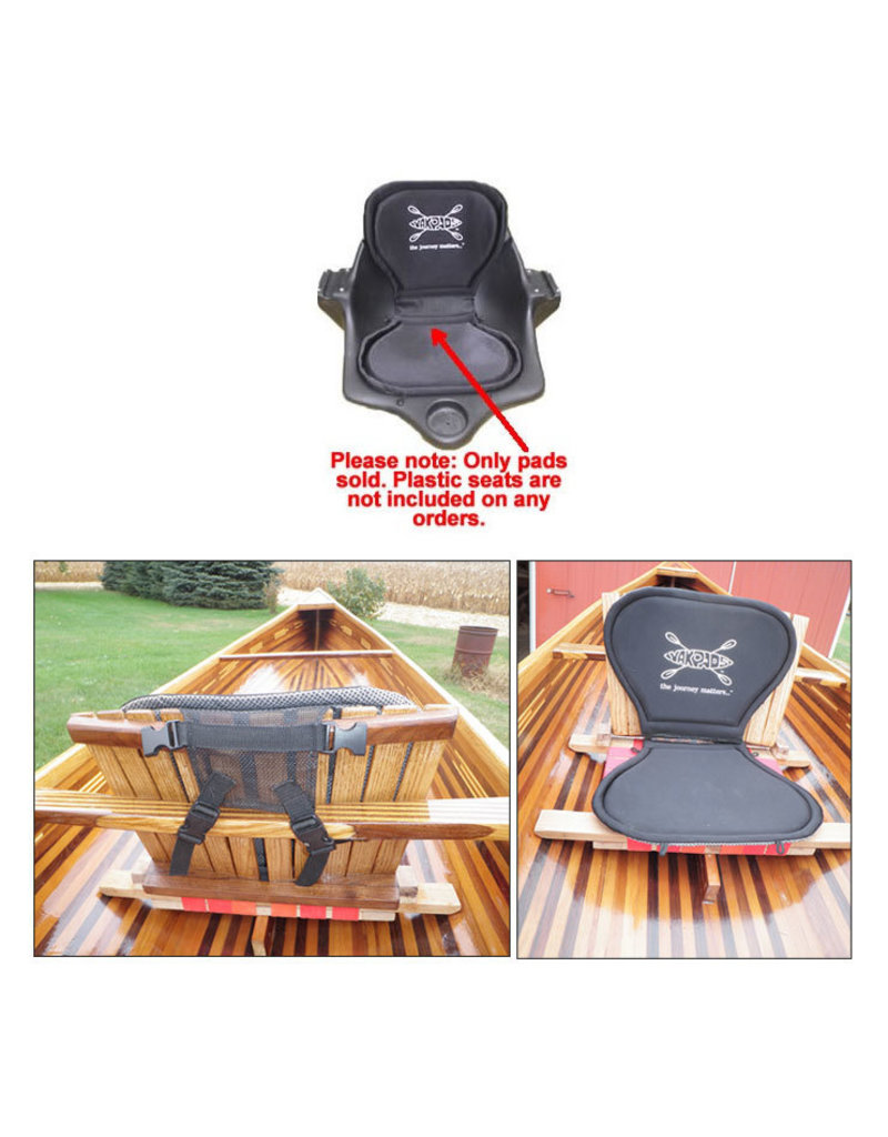 Yakpads High-back Gel-Filled Paddle Saddle