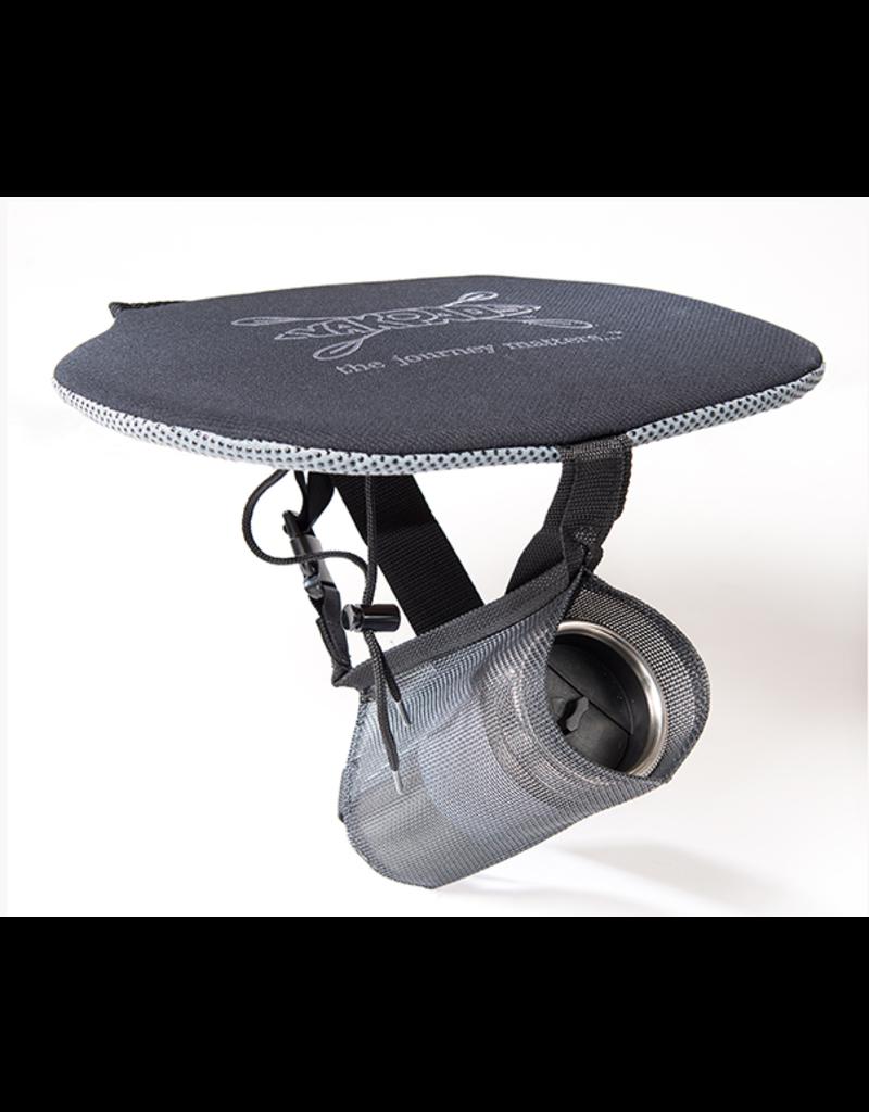Yakpads Gel Filled Canoe Seat w/  Water Bottle Holder