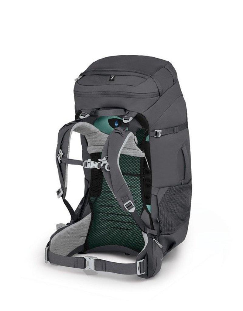 Osprey Packs Women's Fairview Trek 70L Pack Charcoal Grey