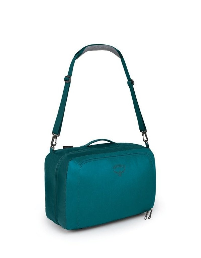 Osprey Packs Transporter Global Carry On Bag Westwind Teal Closeout