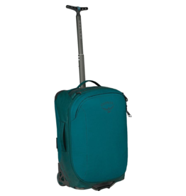 Osprey Packs Transporter Wheeled Carry On Bag Westwind Teal Closeout