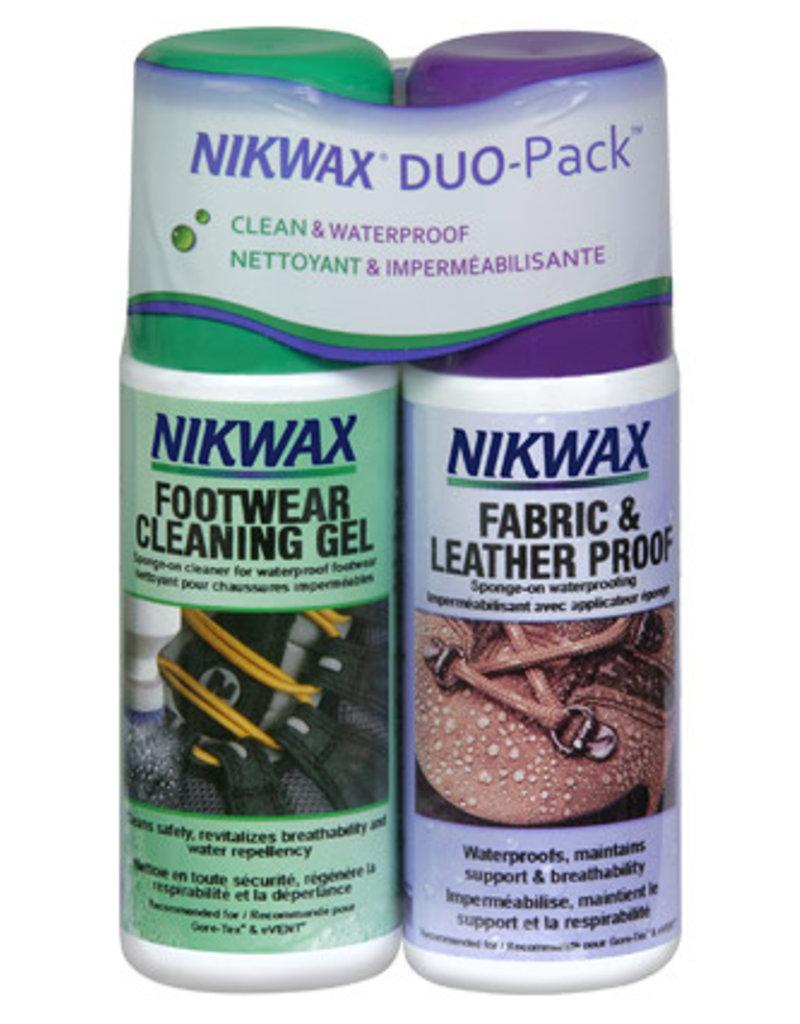Nikwax Fabric & Leather Duo Pack Spray On 4.2oz (125ml)