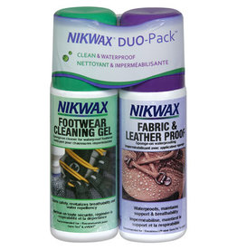 Nikwax Fabric & Leather Duo Pack Sponge On 4.2oz (125ml)