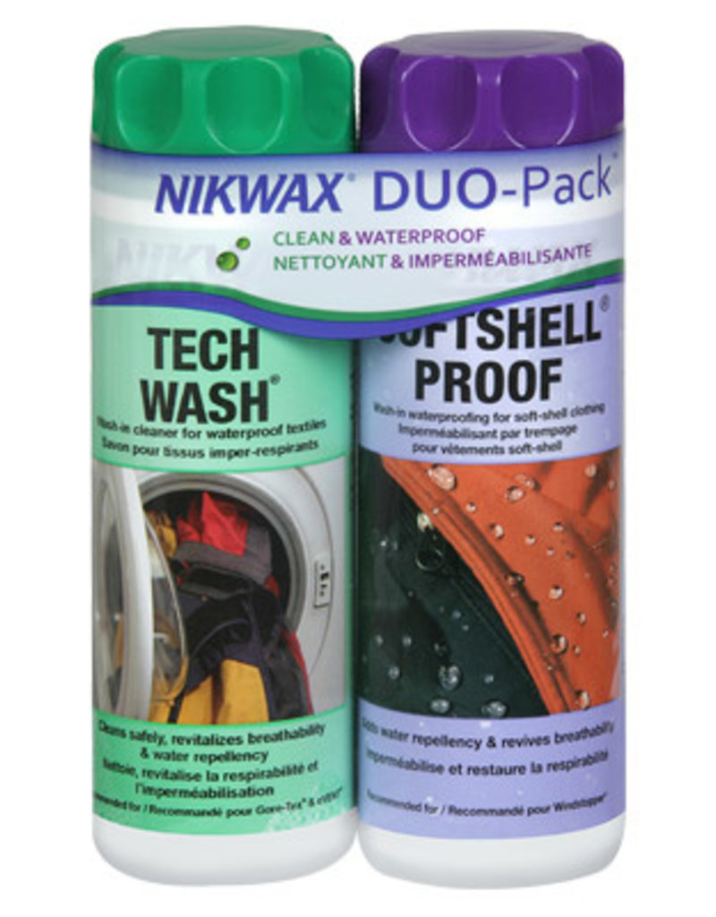 Nikwax Softshell Duo Pack 10oz (300ml)