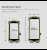 Delta Smartphone Holder Handlebar Mount Black