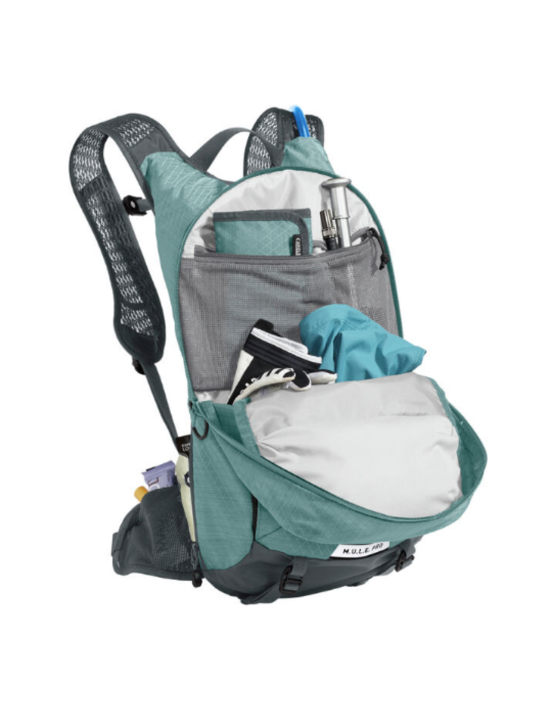 Camelbak Women's MULE Pro 14 100oz Hydration Pack Mineral Blue/Charcoal
