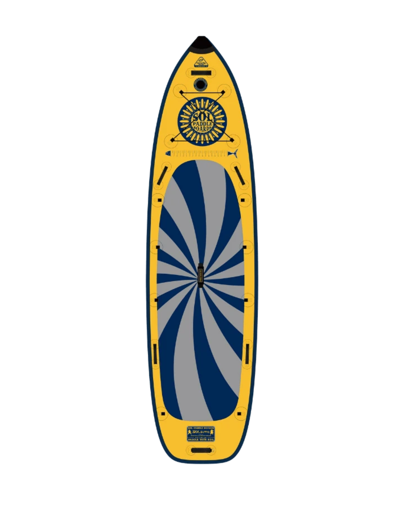 SOL Paddle SOLsumo Inflatable SUP Stand Up Paddleboard GalaXy - 2021