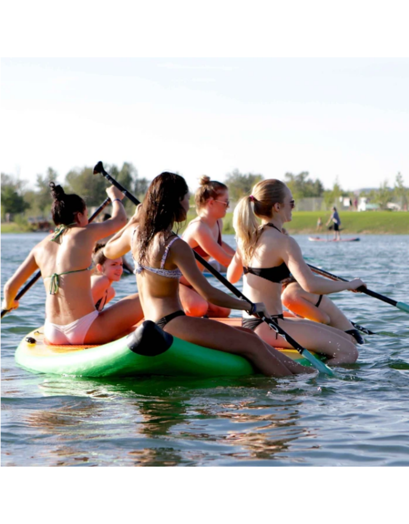 SOL Paddle SOLfiesta 6 Person Inflatable SUP Stand Up Paddleboard Classic - 2021