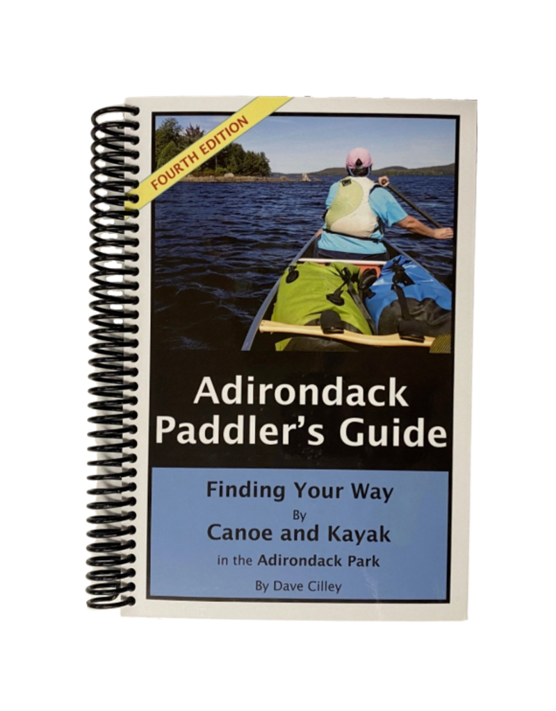 Blue Line Book Exchange Adirondack Paddlers Guide 4th Ed.