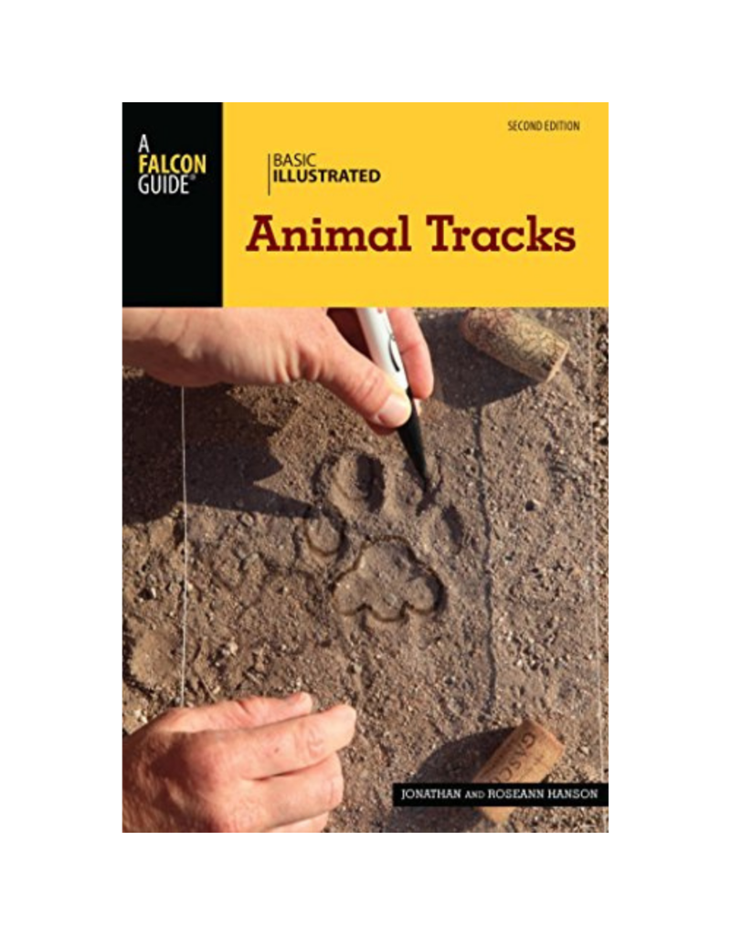 Blue Line Book Exchange Falcon Guide Basic Illustrated Animal Tracks
