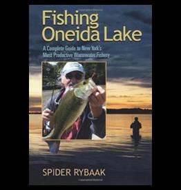 Blue Line Book Exchange Fishing Oneida Lake by Spider Rybaak