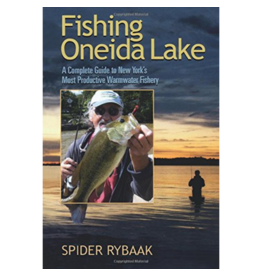 Blue Line Book Exchange Fishing Oneida Lake by Spyder Rybaak