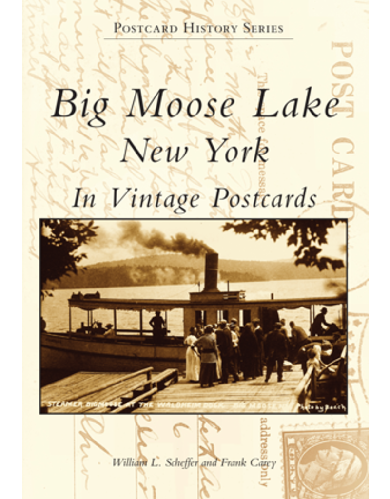 Arcadia Publishing Big Moose Lake NY In Vintage Postcards