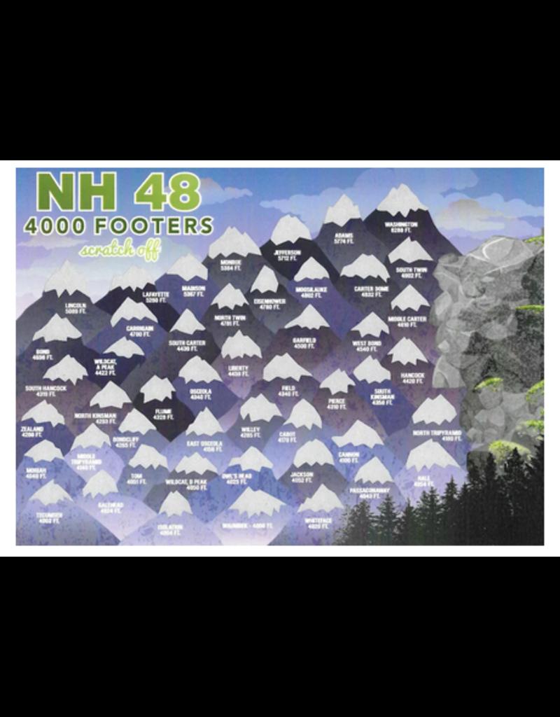 Peak Quest Hiking Challenge Scratch Off 5x7