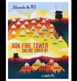Peak Quest Hiking Challenge Scratch Off 11x14