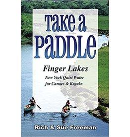 Blue Line Book Exchange Take a Paddle Finger Lakes by Rich & Sue Freeman