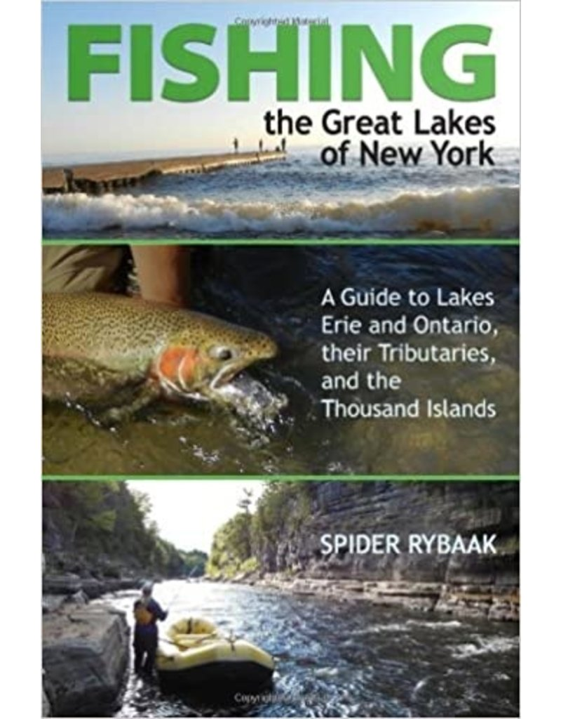 North Country Books Inc. Fishing The Great Lakes of New York by Spyder Rybaak