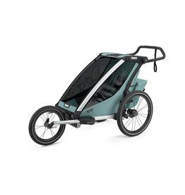 Thule Chariot Cross Single Multisport Stroller - Aluminum/Alaska