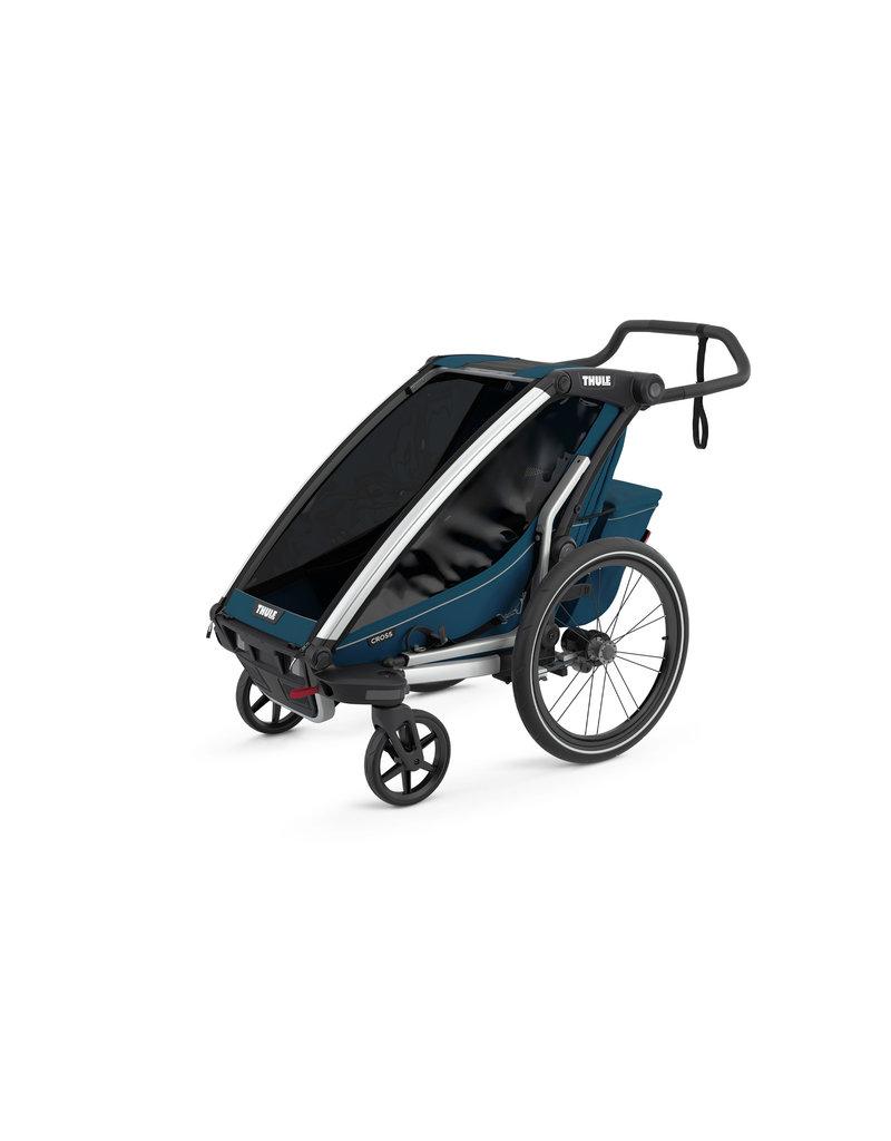 Thule Chariot Cross Single Multisport Stroller - Majolica Blue