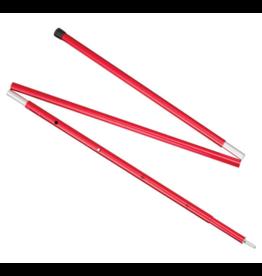 MSR 5' Adjustable Pole Red 5 FT