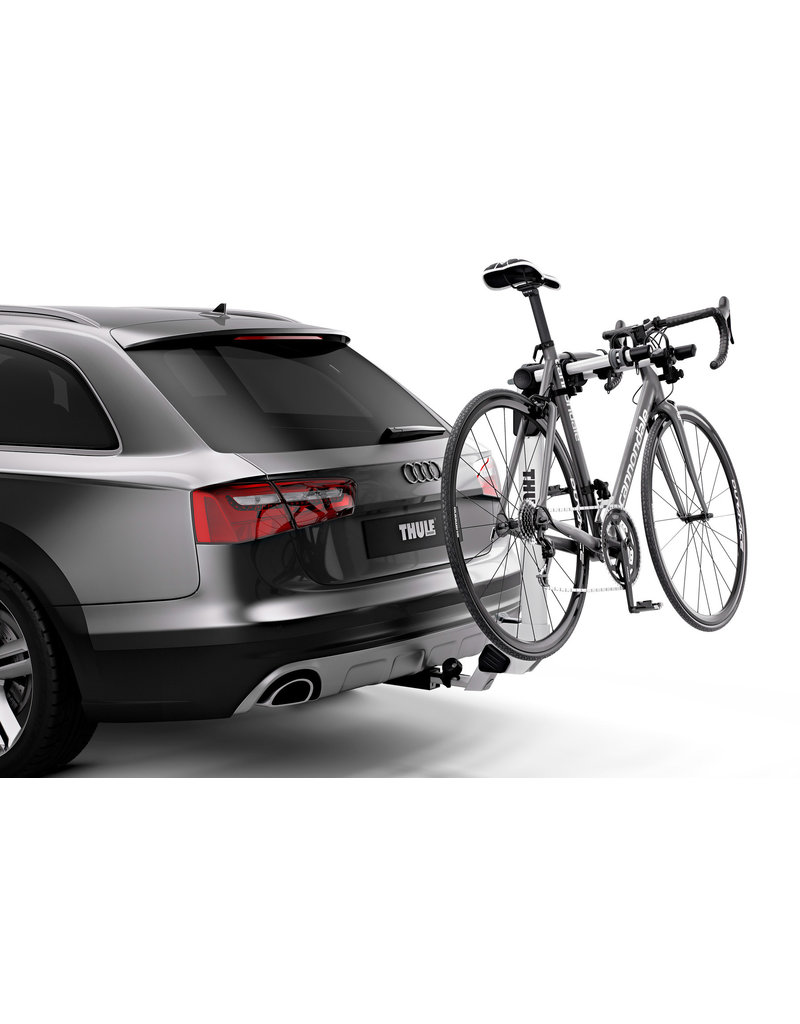 Thule Helium Pro 2 Bike  Hitch Mount Rack - Silver