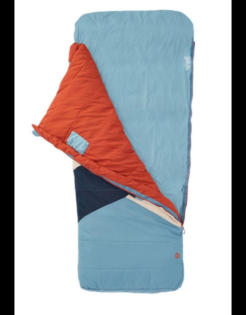 Marmot Idlewild 30 Sleeping Bag Long Cascade Blue/Picante