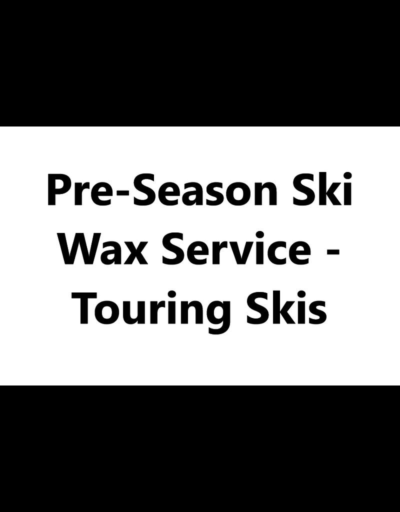 Mountainman Pre-Season Ski Wax Service - Touring Skis