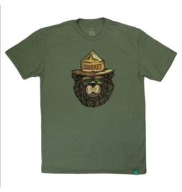 Wild Tribute Smokey The Groovy Bear T-Shirt