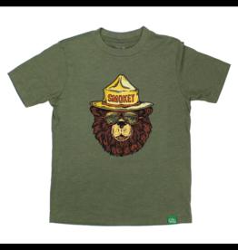 Wild Tribute Kid's Smokey the Groovy Bear T-Shirt