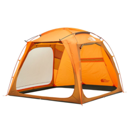 The North Face Homestead Shelter Light Exuberance Orange/Timber Tan/New Taupe Green OS
