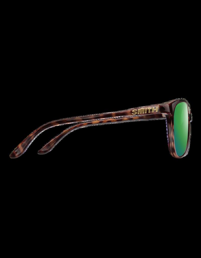 Smith Optics Cheetah Sunglasses w/ Chromapop - Tortoise/Polarized Green Mirror