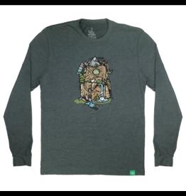 Wild Tribute Nature Backpack Long Sleeve Shirt