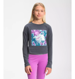 The North Face Girl's Long Sleeve Graphic Tee