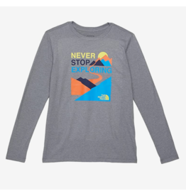 The North Face Boy's Long Sleeve Graphic Tee