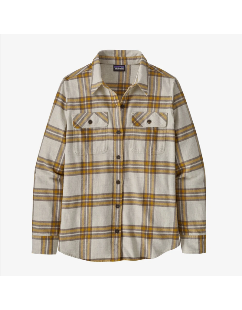 Patagonia Women's Long Sleeve Organic Cotton Midweight Fjord Flannel Shirt