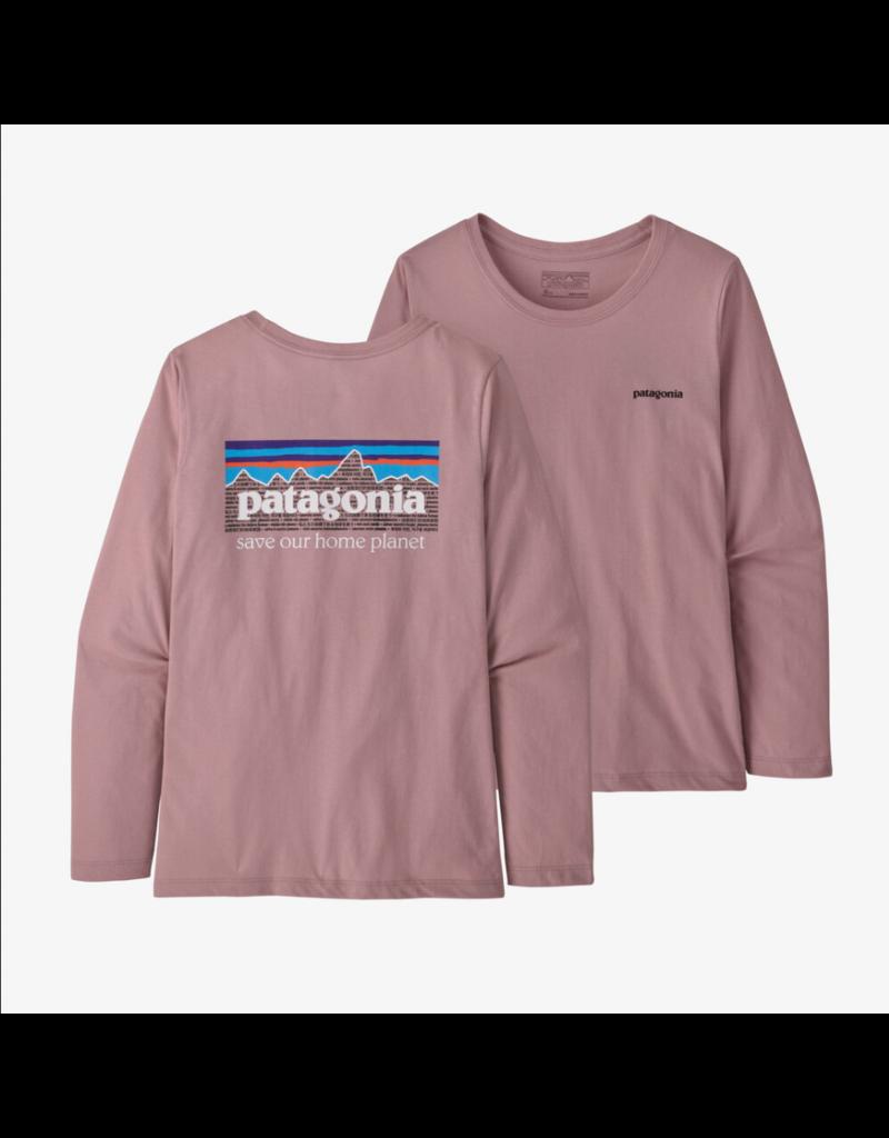 Patagonia Girl's Graphic Organic T-Shirt Long Sleeve