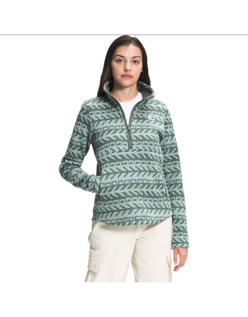 The North Face Women's Printed Crescent 1/4 Zip Pullover