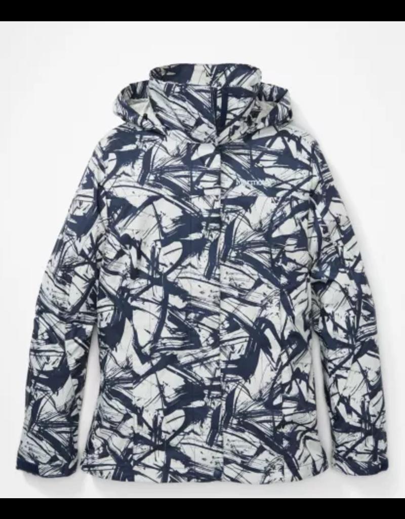 Marmot Women's Precip Eco Print Waterproof Jacket